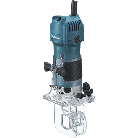 Affleureuse MAKITA 530W - 6mm MAK-PAC