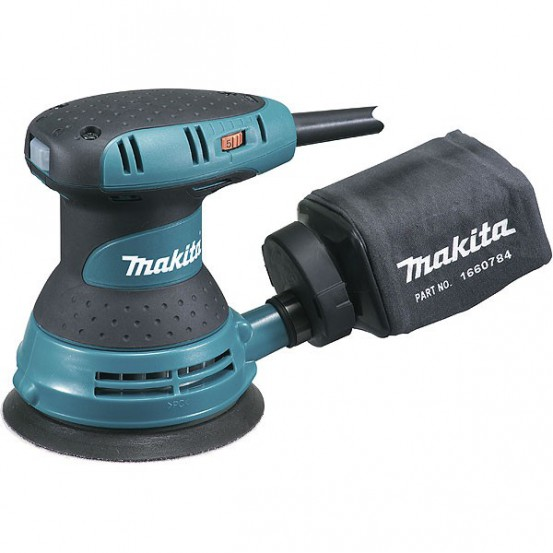 Ponceuse excentrique MAKITA300 W D 125 mm