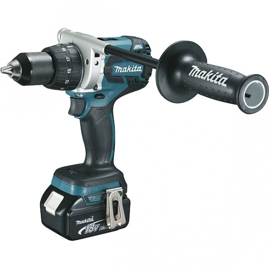 Perceuse visseuse MAKITA 18 V Li-Ion 5 Ah Ø 13 mm