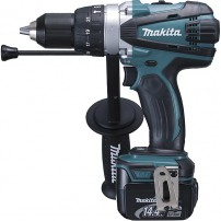 Perceuse visseuse à percussion MAKITA BHP448RFJ 14,4 V Li-Ion 3 Ah Ø 13 mm