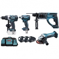 Ensemble DLX4054MX1 de 4 machines MAKITA