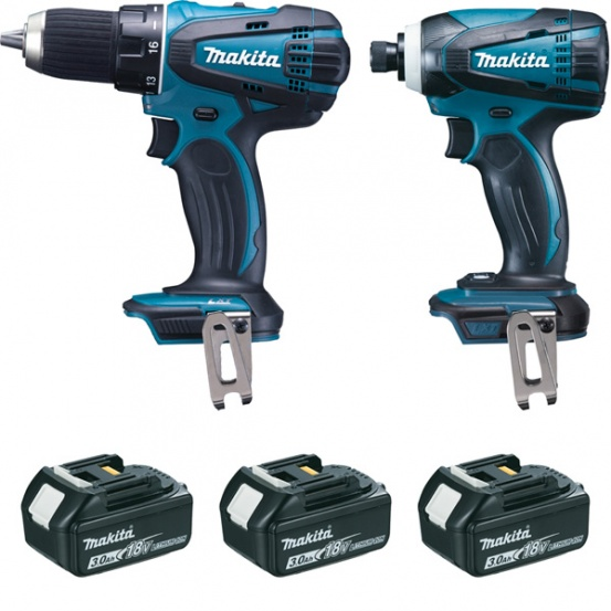Coffret 2 machines DLX2014JX4 MAKITA