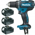 Perceuse visseuse 18 V Li-Ion 4 Ah Ø 13 mm DDF482RM3J MAKITA