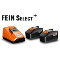 Set de démarrage batteries 18V / 2,5Ah Fein