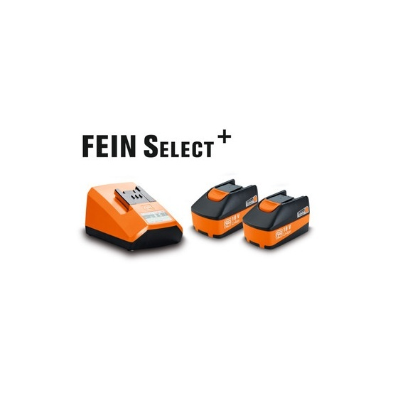 Set de démarrage batteries 18V / 5Ah Fein
