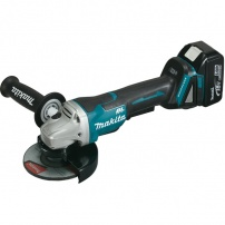 Meuleuse Ø 125 mm 18 V Li-Ion 5 Ah MAKITA
