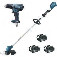 Ensemble de 2 machines (DUR182L + DDF456) MAKITA