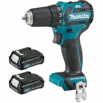 Perceuse visseuse 10,8 V Li-Ion 2 Ah CXT Ø 10 mm DF332DSAJ MAKITA