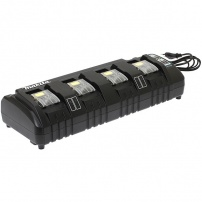 Chargeur 4 batteries Makstar Li-Ion 14,4 à 18 V - DC18SF MAKITA