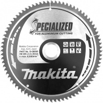 Lames carbures ''Specialized'' Aluminium MAKITA