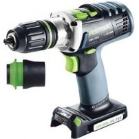 Perceuse-visseuse sans fil DRC 18/4 Li 5,2 Basic QUADRIVE FESTOOL