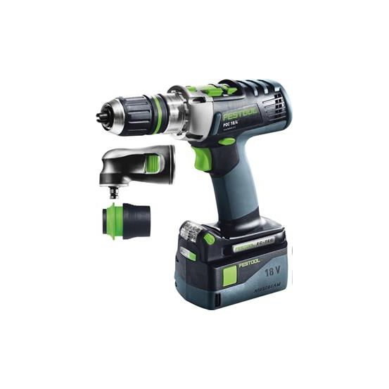 festool c perceuse visseuse percussion 18v pdc18 4li set. Black Bedroom Furniture Sets. Home Design Ideas