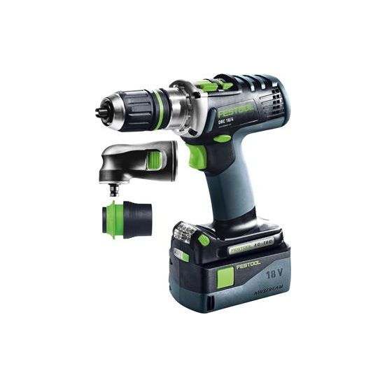 Perceuse-visseuse sans fil DRC 18/4 Li 5,2 Set QUADRIVE FESTOOL