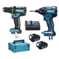 Ensemble de 2 machines 18 V Li-Ion 4 Ah (DDF480 + DTD129) MAKITA