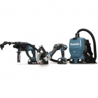 Ensemble de 4 machines (DDF482 + DHR202 + DGA506 + DVC260) MAKITA