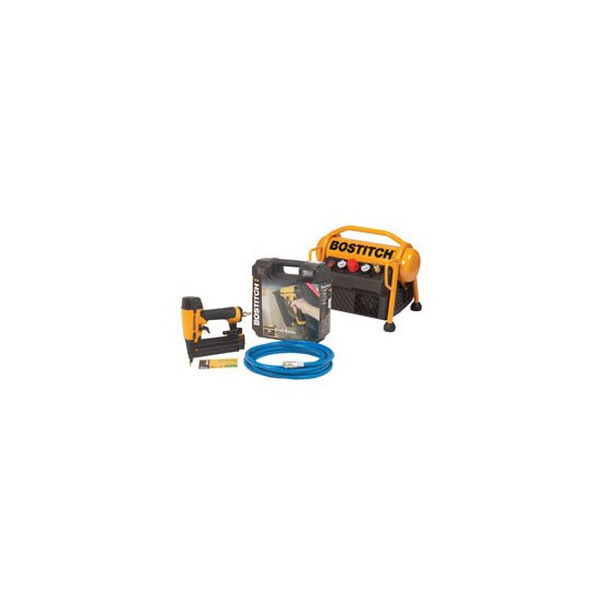 Pack COMBO Compresseur MRC6 et Cloueur BT1855-E BOSTICH