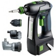 Perceuse-visseuse C 15 Li 4,2 Set FESTOOL