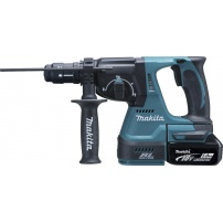 Perfo-burineur SDS-Plus 18 V Li-Ion 5 Ah 24 mm MAKITA