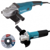 Ensemble de 2 machines (9558HNRG + GA9020) MAKITA