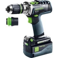 Perceuse-visseuse sans fil DRC 18/4 Li 5,2 Plus QUADRIVE FESTOOL