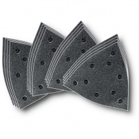 Set de feuilles abrasives corindon, perforées FEIN