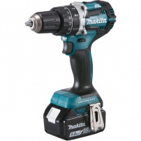 Perceuse visseuse à percussion 18V Li-Ion 5Ah Ø13 mm DHP484RTJ MAKITA