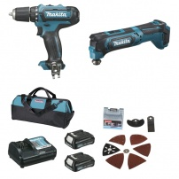 Ensemble de 2 machines CXT ( kit d'accessoires) (DF331D + TM30D) MAKITA