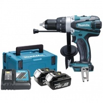 Perceuse visseuse à percussion 18V Li-Ion 5Ah Ø13mm DHP458RTJ MAKITA
