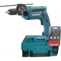 Perceuse a percussion 680W 13mm HP1641K1X MAKITA