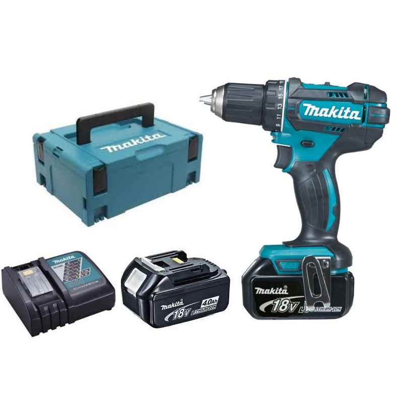 makita perceuse visseuse 18v 4ah ddf482rmj. Black Bedroom Furniture Sets. Home Design Ideas