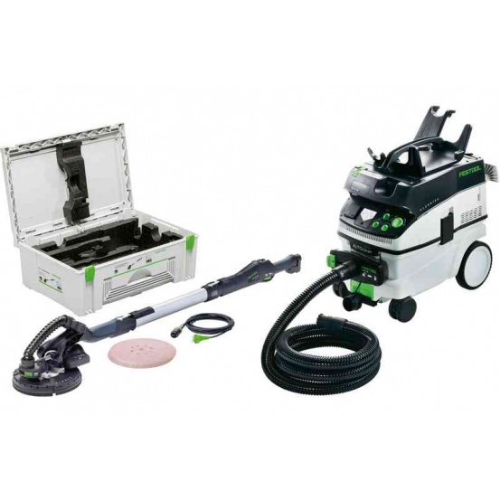 Ponceuse PLANEX LHS 225-IP/CTM 36 E AC-Set FESTOOL