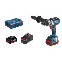 Perceuse-visseuse GSR 18 V-85 C ,2batt 5,0 AH batteries, L-BOXX BOSCH