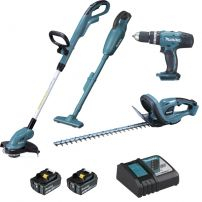 Ensemble de 4 machines DLX4093 MAKITA