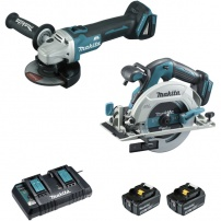 Ensemble de 2 machines 18 V Li-Ion 5 Ah DLX2277PTJ MAKITA