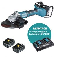Meuleuse Ø 230 mm (4 batteries) DGA900PT4 MAKITA