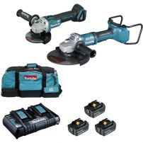 Ensemble de 2 machines (DGA900 + DGA506) MAKITA