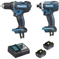 Ensemble de 2 machines 18V 5Ah (DDF482 + DTD152) DLX2127TJ MAKITA