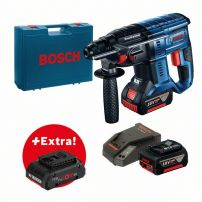 Perforateur sans-fil SDS-plus GBH 18V-20, 2batt 5,0 AH batteries, L-BOXX BOSCH