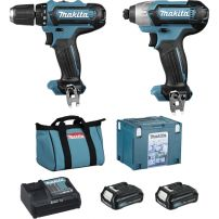 Ensemble de 2 machines 12V Li-Ion (TD110DZ + DF331DZ) MAKITA