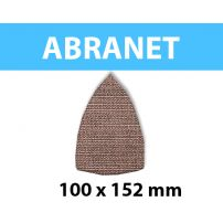 Triangle abrasif MIRKA ABRANET 100x152 mm