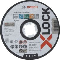 Disques à tronçonner X-LOCK Multi Construction BOSCH