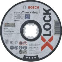 Disques à tronçonner X-LOCK Expert for Inox and Metal BOSCH