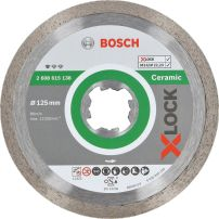 Disques à tronçonner diamantés X-LOCK Standard for Ceramic BOSCH