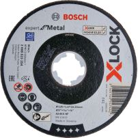 Disques à tronçonner X-LOCK Expert for Metal BOSCH