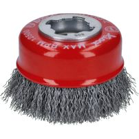 Brosses coupes X-LOCK Clean for Metal, fils ondulés BOSCH