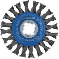 Brosses circulaires à fils torsadés X-LOCK Heavy for Metal BOSCH