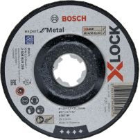 Disques abrasifs X-LOCK Expert for Metal BOSCH