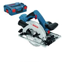 Scie circulaire GKS18V-57G Click & Go - Coffret LBOXX BOSCH