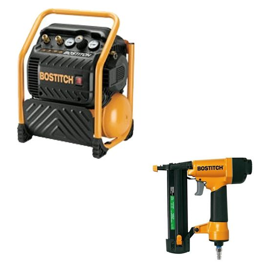 Pack COMBO Compresseur RC 10 litres COMBO RC10SQ-E & SB-2IN1 RC-2IN1-EBOSTITCH