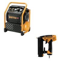 Pack COMBO Compresseur RC10SQ-E et Cloueur BT1855SP-E RC-BT-E BOSTITCH